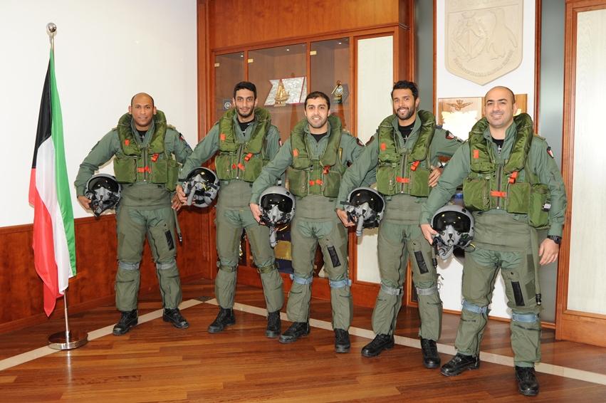 Aeroporto Kuwait : Il ° stormo di galatina brevetta piloti del kuwait