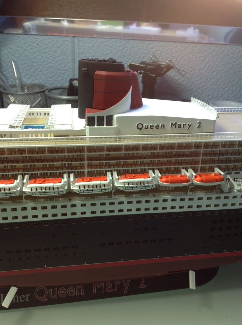 Elicottero Queen : La queen mary da kit revell scala